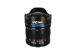 Laowa 9 mm f/5.6 FF RL monture Leica L objectif photo