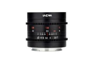 Laowa 9mm T2.9 Zero D Cine monture Fuji X objectif vidéo