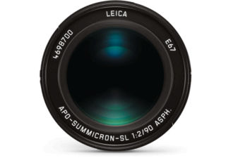 LEICA APO-SUMMICRON-SL 90mm f/2 ASPH objectif photo noir