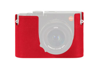 LEICA Protector cuir rouge