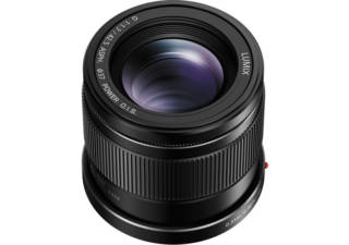 PANASONIC Lumix G 42.5 mm f/1.7 noir objectif photo