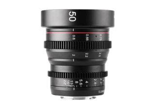 Meike 50mm T2.2 monture Sony E objectif vidéo