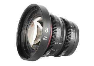 Meike 8mm T2.9 monture micro 4/3 objectif vidéo