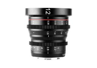 Meike 12mm T2.2 monture micro 4/3 objectif vidéo