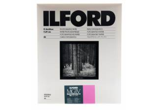 ILFORD papier photo MULTIGRADE IV RC DE LUXE - Surface Brillante/ 17,8 x 24,0 cm 25 feuilles