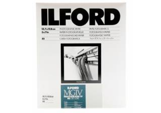 ILFORD papier photo MULTIGRADE IV RC DE LUXE/ MGD.44M - Surface Perlée/ 12,7 x 17,8 cm 25 feuilles