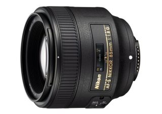 NIKON AF-S NIKKOR 85 mm f/1.8G objectif photo