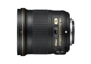 NIKON AF-S NIKKOR 24 mm f/1.8G ED objectif photo