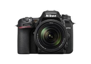 NIKON D7500 + AF-S DX 18-140 mm VR reflex numérique