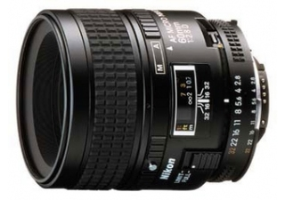 NIKON AF 60 mm f/2.8D objectif photo