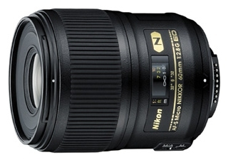 NIKON AF-S Micro NIKKOR 60 mm f/2.8G ED objectif photo