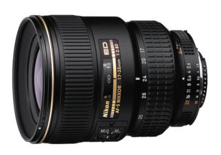 NIKON AF-S 17-35 mm f/2.8D IF ED objectif photo
