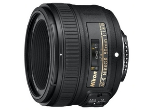 NIKON AF-S Nikkor 50 mm f/1.8G objectif photo