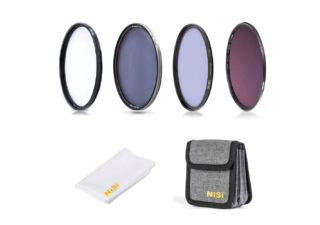 Nisi kit Filtres Circulaires Professionnel 82 mm