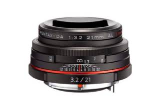 PENTAX HD DA 21 mm f/3.2 AL Limited noir objectif photo