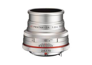 PENTAX HD DA 70 mm f/2.4 Limited silver objectif photo