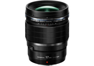 OLYMPUS 17 mm f/1.2 M.ZUIKO DIGITAL ED PRO objectif photo