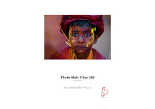 HAHNEMUHLE Photo Matt Fibre papier photo 25 feuilles A3 200 gr