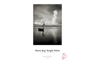 HAHNEMUHLE Photo Rag Bright White papier photo 25 feuilles A3 310 gr