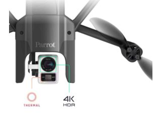 Parrot Anafi Thermal drone avec caméra thermique