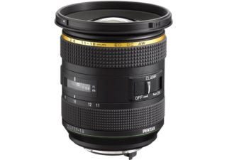 Pentax-DA HD 11-18mm f/2.8 ED DC AW objectif photo ultra grand angle