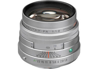 PENTAX 77mm f/1,8 Limited argent objectif photo