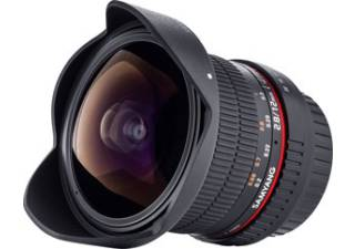 SAMYANG 12 mm F/2.8 Fisheye monture SONY A objectif photo