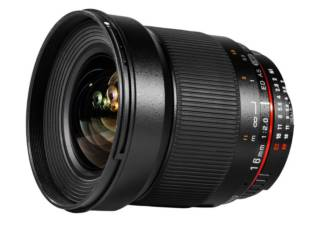 SAMYANG 16 mm f/2 ED AS UMC CS monture CANON objectif photo