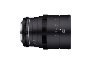 Samyang 35 mm T1.5 VDSLR MK2 monture Fuji X objectif vidéo