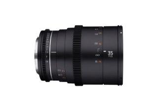 Samyang 35 mm T1.5 VDSLR MK2 monture Canon EF objectif vidéo