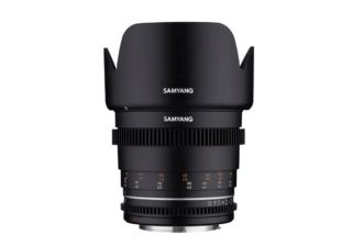 Samyang 50 mm T1.5 VDSLR MK2 monture Canon EF objectif vidéo