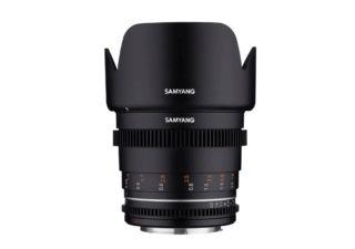 Samyang 50 mm T1.5 VDSLR MK2 monture Sony E objectif vidéo