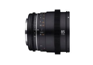 Samyang 85 mm T1.5 VDSLR MK2 monture Sony E objectif vidéo