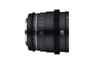 Samyang 85 mm T1.5 VDSLR MK2 monture Fuji X objectif vidéo