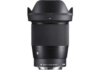 Sigma 16 mm f/1.4 DC DN monture Canon EF-M objectif photo grand angle