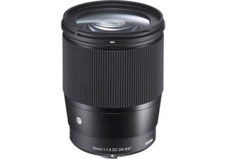 Sigma 16 mm f/1.4 DC DN monture micro 4/3 objectif photo grand angle