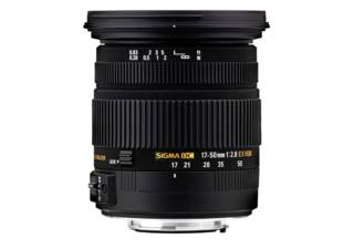 SIGMA 17-50 mm f/2.8 DC OS HSM EX monture CANON objectif photo