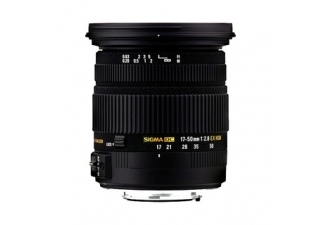 SIGMA 17-50 mm f/2.8 DC HSM EX monture PENTAX objectif photo