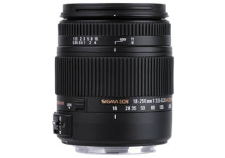 SIGMA 18-250 mm f/3.5-6.3 DC MACRO OS HSM monture CANON objectif photo