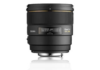 SIGMA 85 mm f/1.4 EX DG HSM monture CANON objectif photo