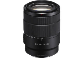 SONY E 18-135 mm F/3.5-5.6 OSS monture SONY E objectif photo hybride