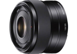 SONY E 35 mm f/1.8 OSS monture Sony E objectif photo hybride