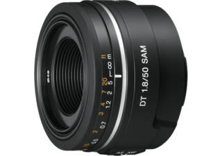 SONY DT 50 mm f/1.8 SAM monture Sony A objectif photo