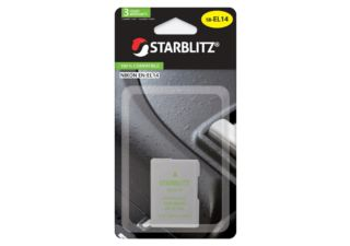 STARBLITZ batterie photo compatible Nikon EN-EL14+