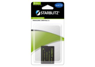 STARBLITZ batterie photo compatible Panasonic DMW-BLC12