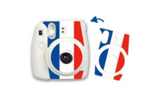 FUJIFILM sticker France pour Instax Mini 8