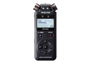 Tascam DR-05X Enregistreur audio portable et interface USB