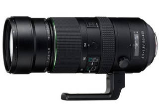 PENTAX 150-450 mm f/4.5-5.6 ED DC AW objectif photo