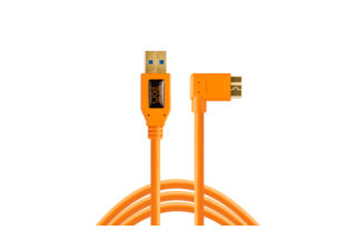 Tether Tools TetherPro USB 3.0 vers USB Micro-B angle droit 4,60m orange