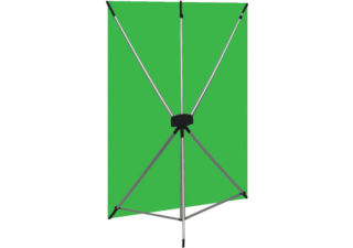 Westcott Kit X-Drop support fond studio + fond vert + sac transport 1.50 x 2.10 m